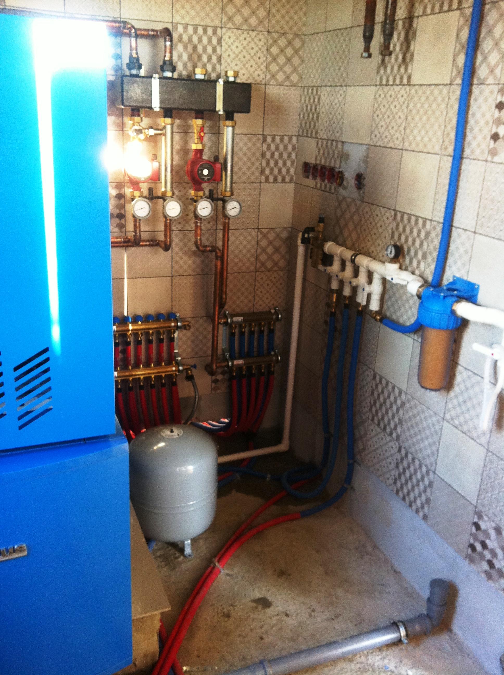 Замерз водопровод в частном доме
